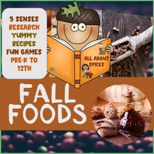 Learning from Home - Preschool fall activities