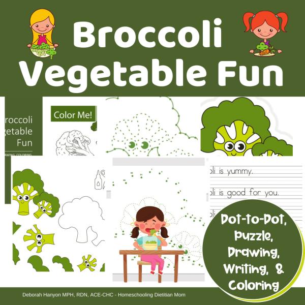Broccoli Dot to Dot