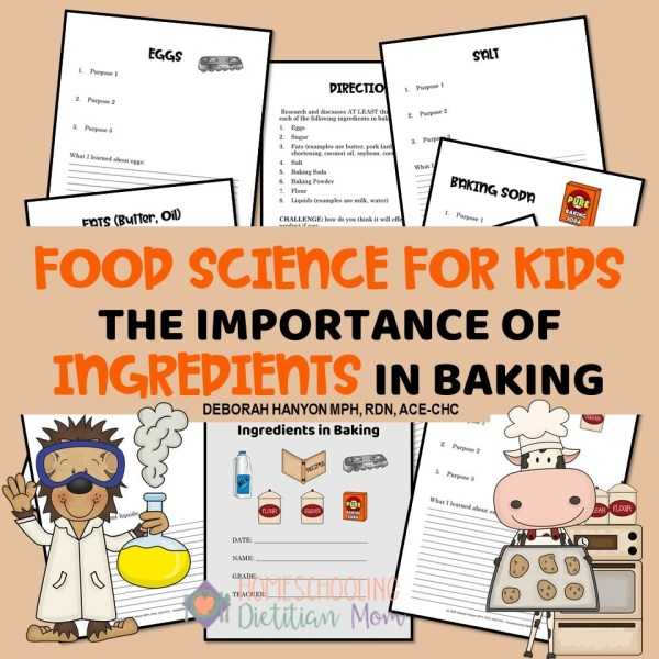 Importance of Ingredients in Baking