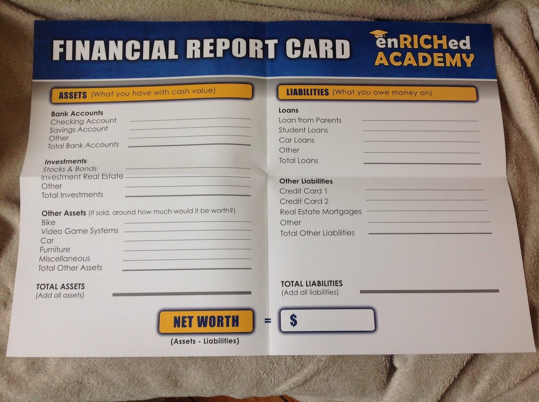 Financial Literacy For Teens Enriched Academy