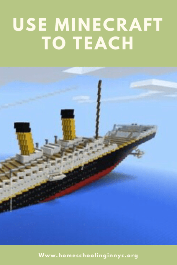 Using Minecraft for Lessons