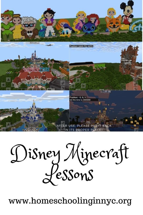 Disney Minecraft