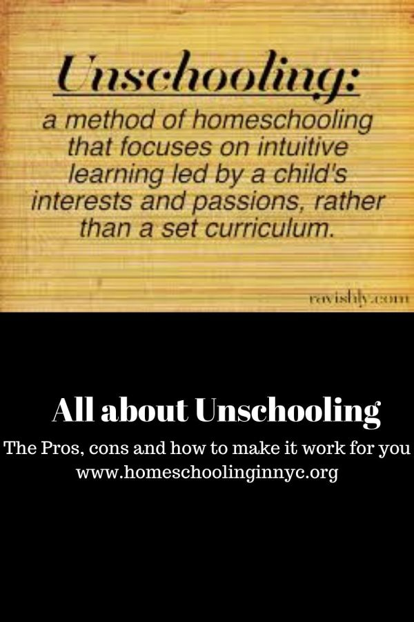 All about unschooling