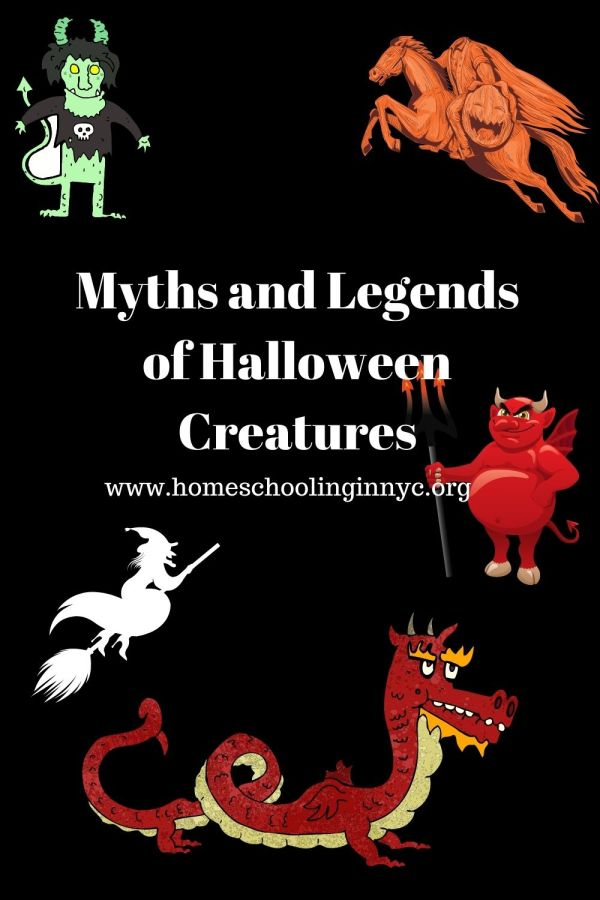 Myths and Legend of Halloween Creatures