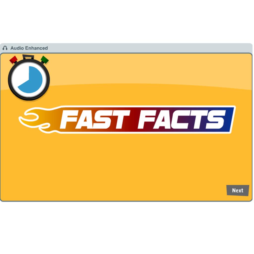 Race Car Fast Facts Math Practice