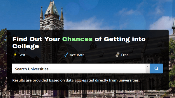 StatFuse: Find Out Your Chance of Getting into the College of Your Dreams
