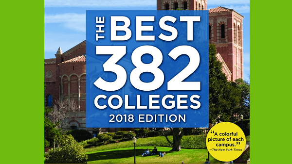 Princeton Review's Annual College Rankings, 2018 Edition