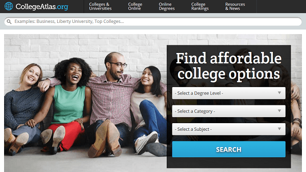 College Atlas: Online Encyclopedia of Higher Education