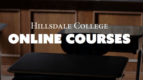 New Hillsdale College Online Course Website