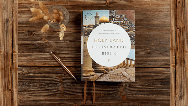 CSB Holy Land Illustrated Bible (Review & Giveaway!)