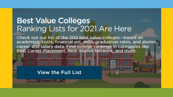 Best Value Colleges 2021
