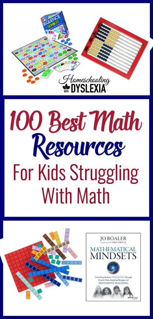 100 best resources for kids who struggle with math homeschooling best math resources fandeluxe