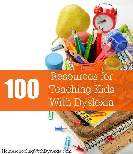 100 resources for teaching kids with dyslexia homeschooling with have a child with dyslexia weve compiled 100 of the best evidence solutioingenieria Choice Image