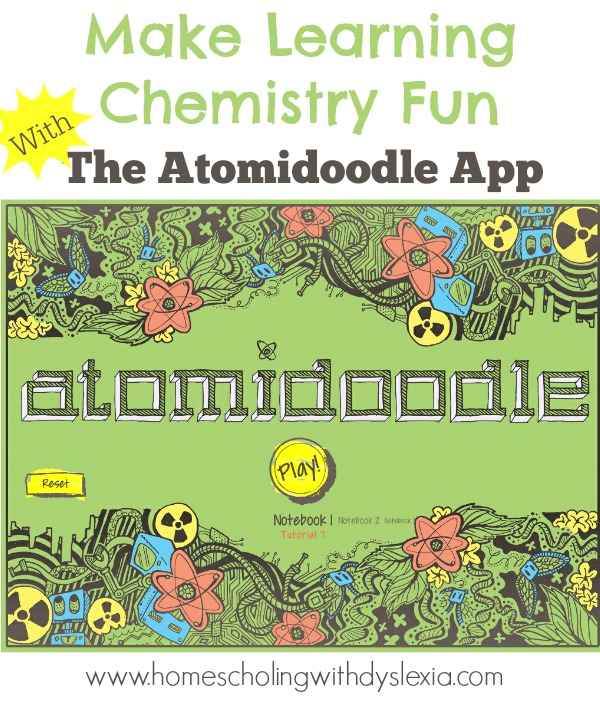Make Learning Chemistry Fun With The Atomidoodle App