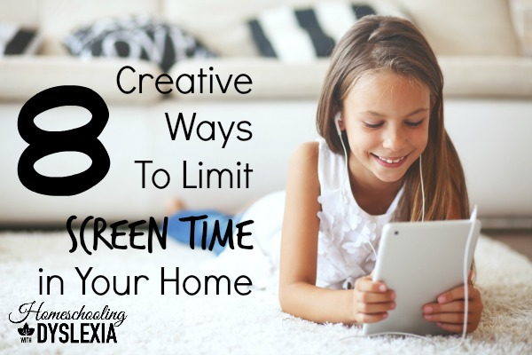 Creative Ways to Limit Screen Time