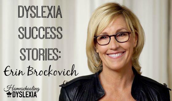 Dyslexia Success Erin Brockovich