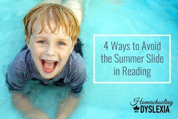 Avoid the summer slide in reading