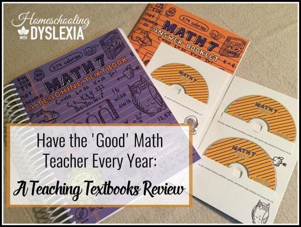 Have the Good Math Teacher Every Year: A Teaching Textbooks