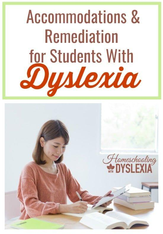 Two terms every parent of a child with dyslexia should know: accommodation and remediation.