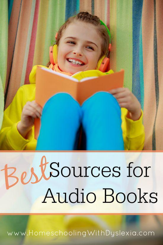 Since reading aloud to my kids is one of my top goals for my homeschool this year, I've been researching the best sources for audio books. Here is what I found!