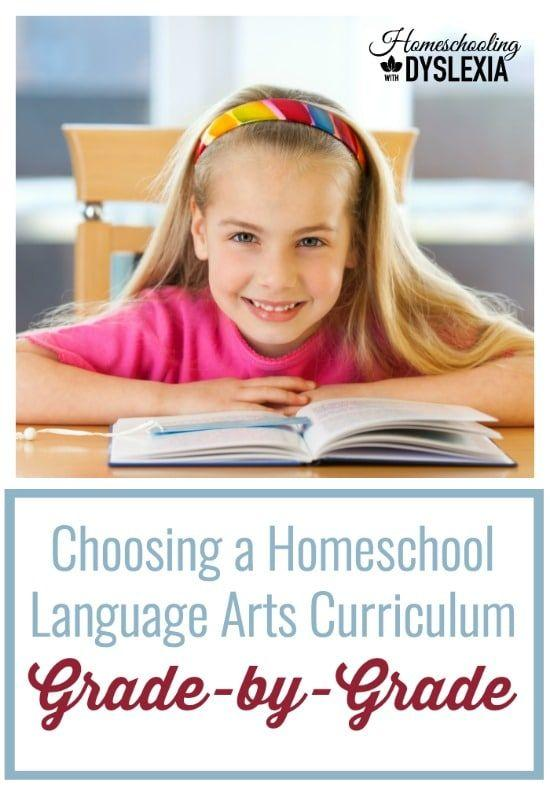 Of all the different curriculum choices you will make for your kids with dyslexia, choosing the best language arts curricula is probably the most important.  Choosing a Language Arts Homeschool Curriculum