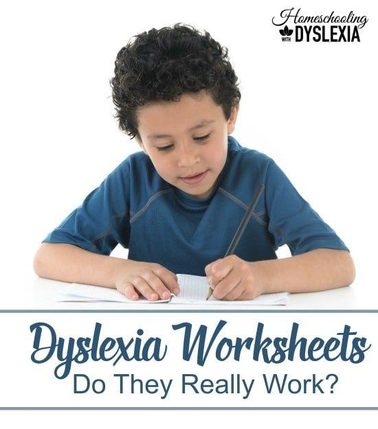 Do Dyslexia Worksheets Really Work Homeschooling With Dyslexia
