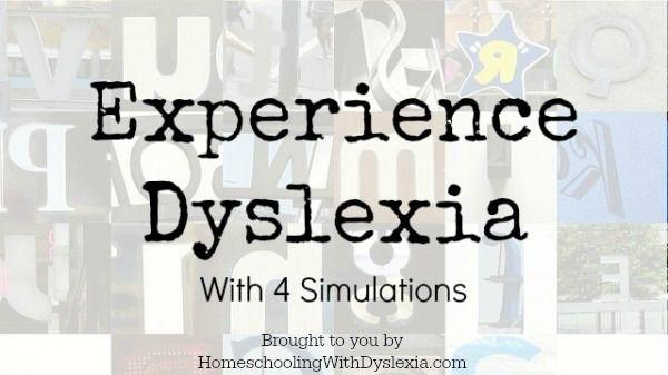 Experience dyslexia homeschooling with dyslexia have you ever wondered what your dyslexic child may be dealing with take a dyslexia simulation and experience what it is like to be dyslexic ibookread Read Online
