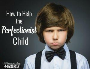 Helping the Perfectionist Child