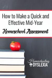 Making a Mid Year Homeschool Assessment