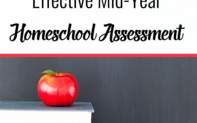 How to Make a Quick and Effective Mid-Year Homeschool Assessment