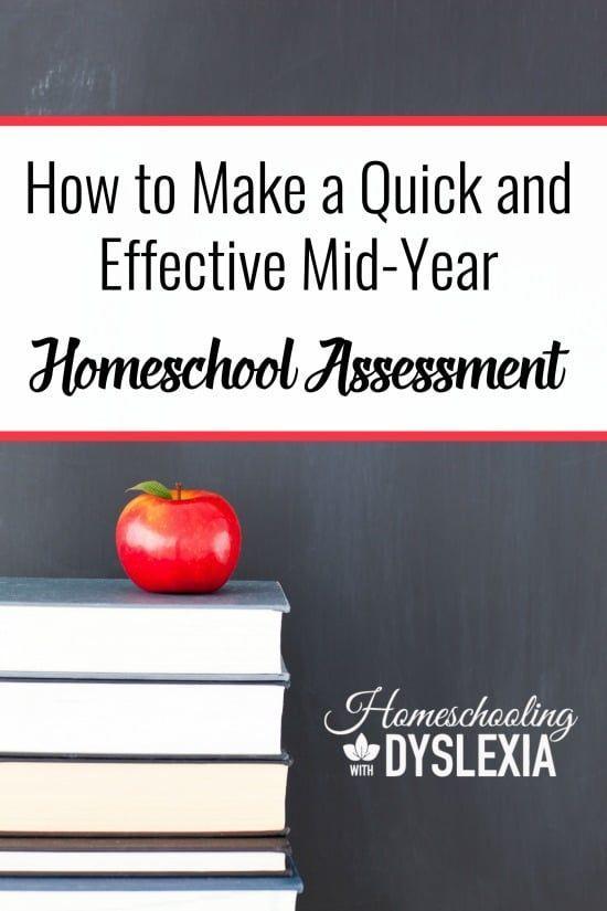 Making a Mid Year Homeschool Assessment