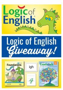 Logic of English Giveaway