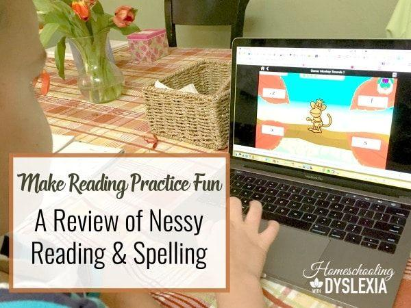 Kids with dyslexia need a LOT of practice to become fluent readers and spellers. Nessy Reading & Spelling makes reading practice fun!