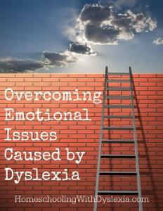 Teaching Tips on Tuesday:  Overcoming Emotional Issues Caused by Dyslexia