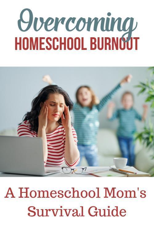 Homeschool Burnout Survival Guide