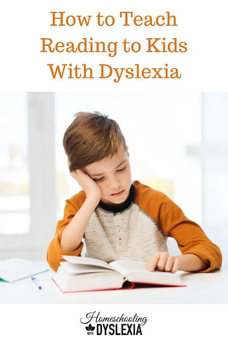 My goal is to show parents how to teach kids with dyslexia to read. There is a lot to know aboutteaching kids with dyslexia to read.Let's break it down step by step.