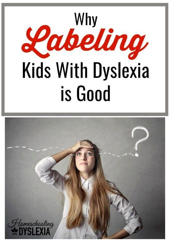 Whether or not to 'label' a child diagnosed with dyslexia is a common concern among parents. As the parent of 7 kids with dyslexia and a passionate dyslexia advocate, I strongly believe that labeling kids with dyslexia is a good thing.