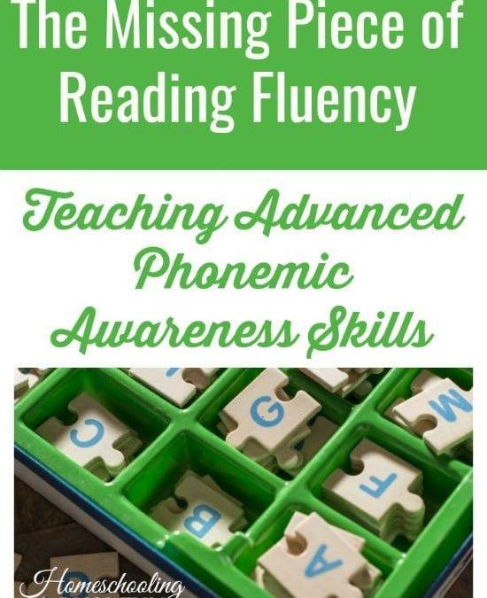 How Teaching Advanced Phonemic Awareness Boosts Reading Fluency