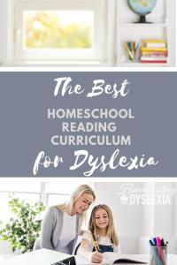 Best homeschool reading curriculum dyslexa