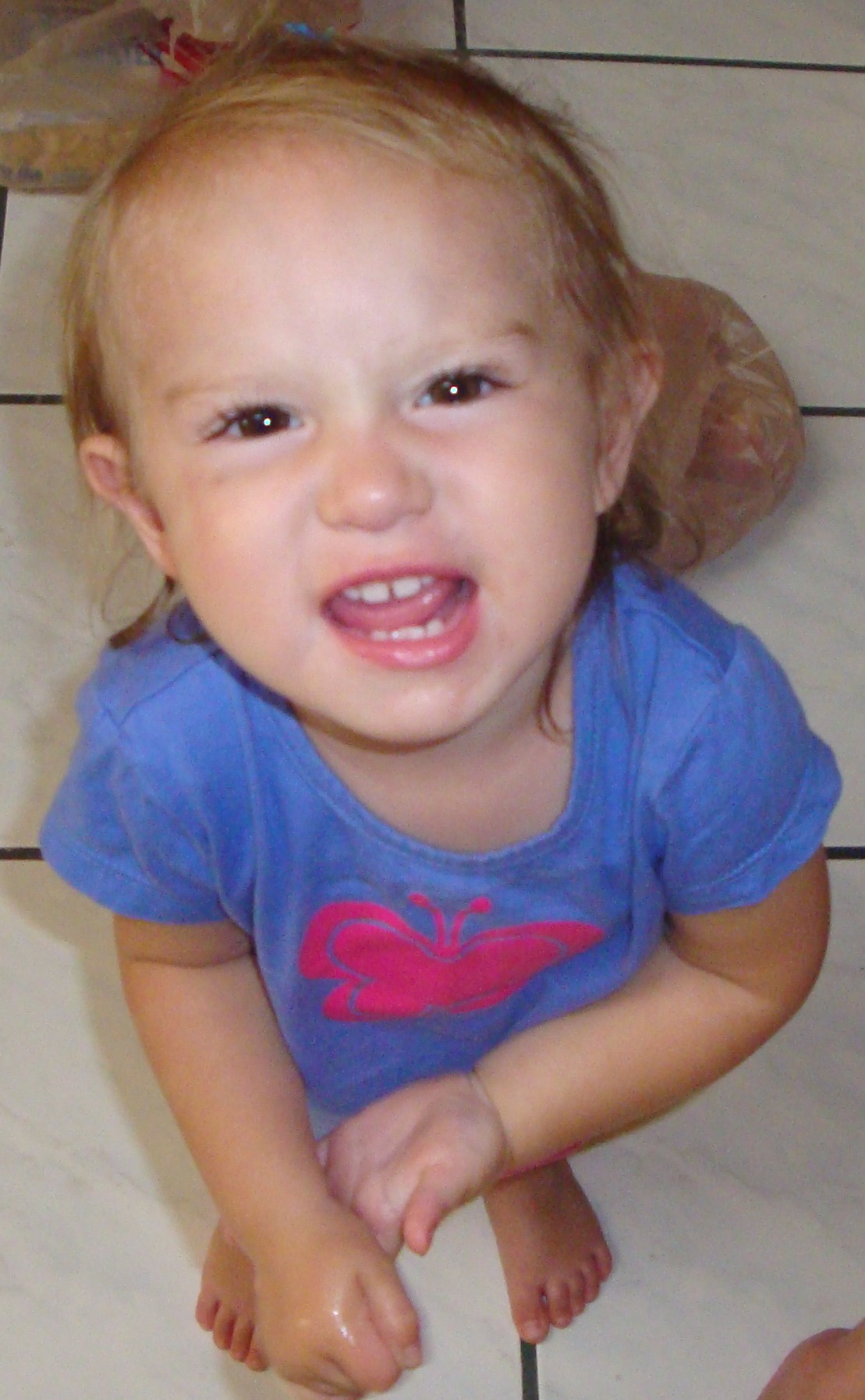 Rebecca Joy Age 1