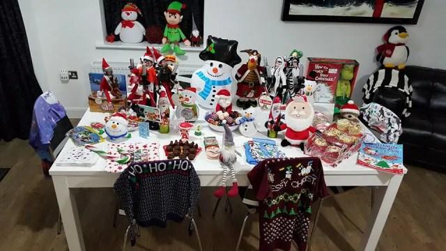 North Pole Breakfast Table