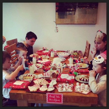 North Pole Breakfast Party