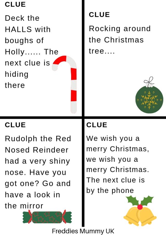 Treasure Hunt Clues - Printables