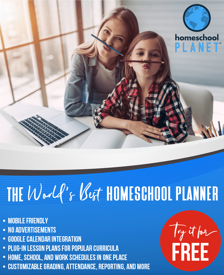 Try the World's Best Homeschool Planner for FREE!