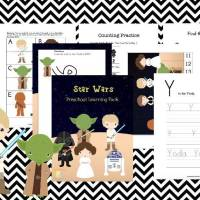 Star Wars Preschool Printable Pack