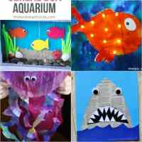26 Adorable Ocean Animals Crafts for Kids