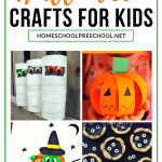 20 More Easy To Make Preschool Halloween Crafts