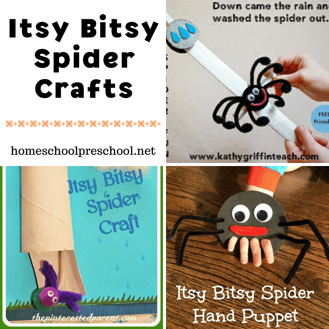 10 Creative Itsy Bitsy Spider Crafts For Preschoolers