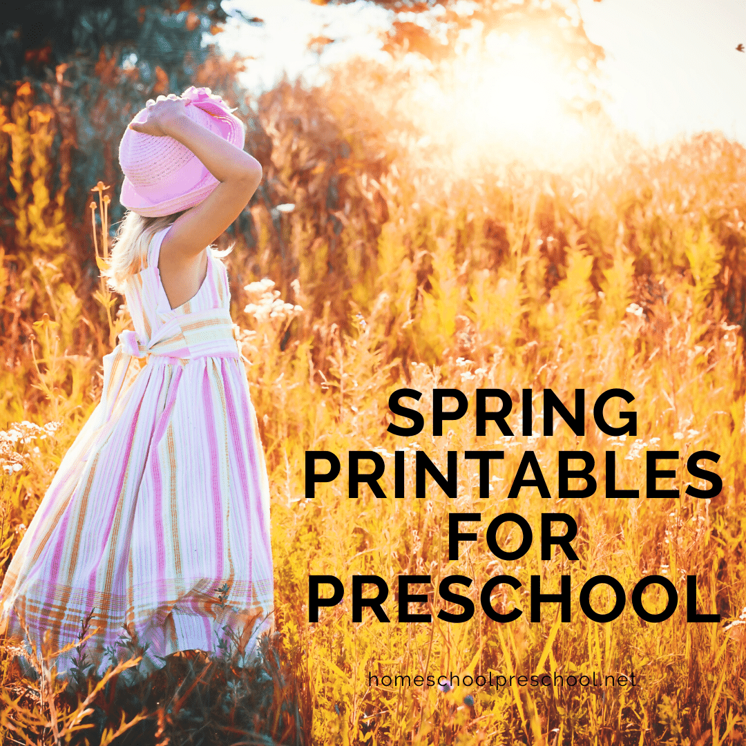 Free Spring Printables For Preschool Lesson Plans