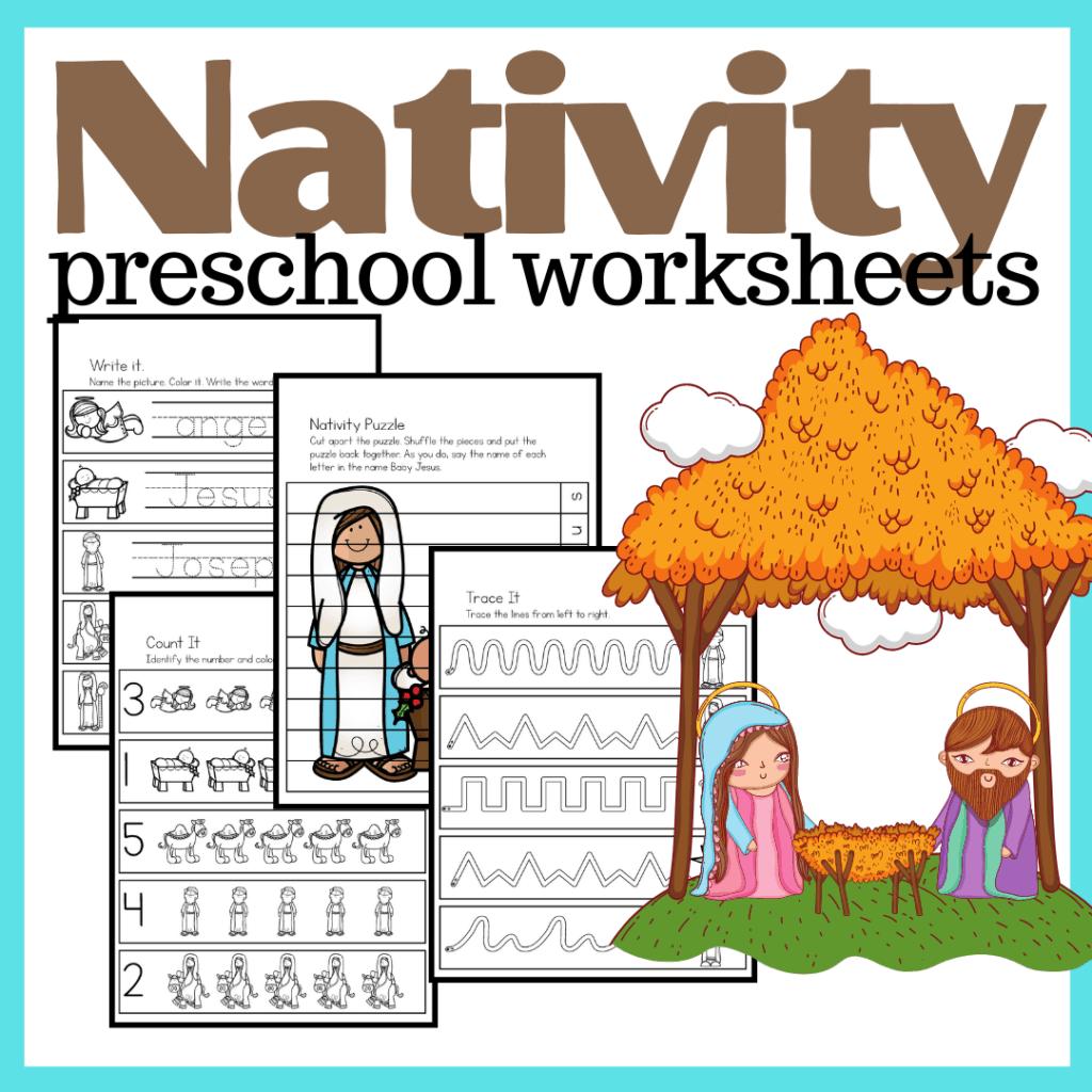 Free Printable Nativity Worksheets For Preschoolers